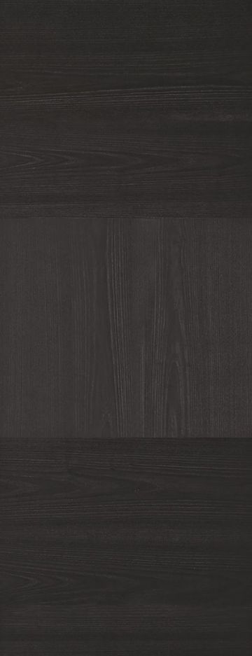Charcoal Black Tres Fire Door